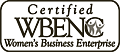 Certified woman-owned business by the Women's Business Enterprise National Council